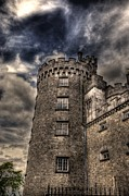 Land Scape Digital Art Prints - Kilkenny Castle Print by Barry R Jones Jr