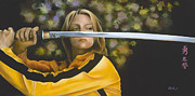 Movie Star Photo Originals - Kill Bill by David Clark