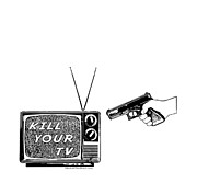 Television Mixed Media - Kill Your TV by Tony  Koehl