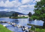 Small Boats Prints - Killaloe, County Clare, Ireland Print by Sici
