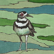 Killdeer Prints - Killdeer Print by Sandy Tracey