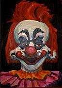 Klown Paintings - Killer Klown by Sara Allison