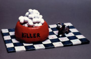 Claymation Art - Killer by Sabin Ankli