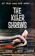 1959 Movies Photo Posters - Killer Shrews, The, 1959 Poster by Everett
