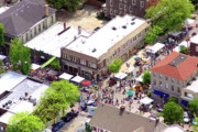 Chestnut Hill Wyndmoor Blue Bell Aerial Photographs - Killians Hardware 8450 Germantown Avenue Philadelphia PA 19118 3388 by Duncan Pearson