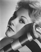 Kim Novak Metal Prints - Kim Novak, 1956 Metal Print by Everett