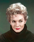 Kim Novak Metal Prints - Kim Novak, Circa 1950s Metal Print by Everett