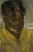 Black Family Pastels - Kimberly by John Robinson