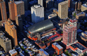 Aerial Photo Of Philadelphia Posters - Kimmel Center for the Performing Arts 260 South Broad Street Suite 901 Philadelphia PA 19102 Poster by Duncan Pearson