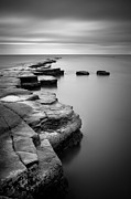England Prints - Kimmeridge Bay II Print by Nina Papiorek