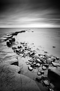 Gb Framed Prints - Kimmeridge Bay Framed Print by Nina Papiorek