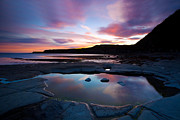 Errosion Framed Prints - Kimmeridge Colours Framed Print by Jan Allen