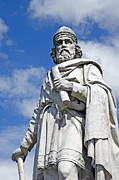 Alfred Photos - King Alfred The Great Of England by Sheila Terry