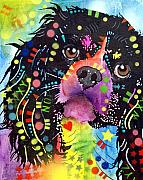 Dogs Mixed Media - King Charles by Dean Russo