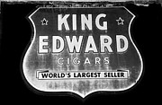 Cigars Posters - King Edward Cigars Poster by David Lee Thompson