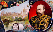 1800s Prints - King Edward Vii 1841-1910, King Print by Everett