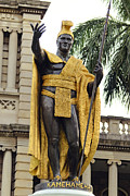 Aliiolani Posters - King Kamehameha Poster by James Crawford