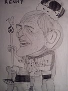 Liverpool Drawings Posters - King Kenny Poster by Vikram Balaji