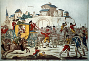 Rebellion Framed Prints - King Louis Xvi: Arrest Framed Print by Granger