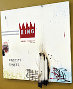 Companies Prints - King Means Quality Print by Melissa Mayer