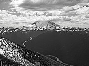 Mt Rainier National Park Prints - King Mountain Print by Jim Chamberlain