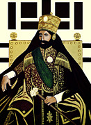 Rasta Prints - King of Kings Print by EJ Lefavour