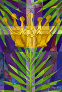 Palm Sunday Paintings - King Of Kings by Mark Jennings
