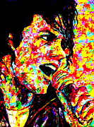 King Of Pop. Dancer Paintings - King Of Pop by Mike OBrien