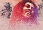 King Of Reggae Print by Stefan Kuhn
