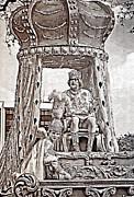 Kathleen K Parker - King of Rex - Painted BW