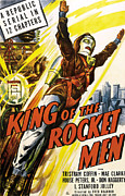 1949 Movies Prints - King Of The Rocket Men, 1949 Print by Everett