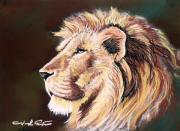 Jungle Pastels Originals - King of Wonderland by Joseph Palotas