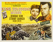 1950s Movies Prints - King Solomons Mines, Deborah Kerr Print by Everett