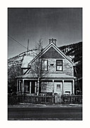 Timber House Prints - King Street Print by Priska Wettstein