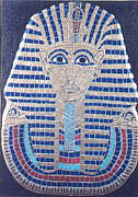 Tut Mixed Media - King Tut by Anneliese Fritts