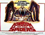 Lobbycard Framed Prints - Kingdom Of The Spiders, 1977 Framed Print by Everett