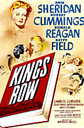 Reagan Framed Prints - Kings Row, Ann Sheridan, Robert Framed Print by Everett
