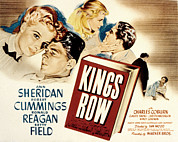 Posth Posters - Kings Row, Ann Sheridan, Ronald Reagan Poster by Everett