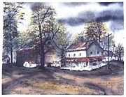 Tennessee Farm Painting Framed Prints - Kinkead Farm Framed Print by Patrick Grills