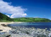 Atlantic Beaches Prints - Kinnagoe Bay, Inishowen, Co Donegal Print by The Irish Image Collection
