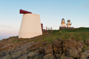 Foghorn Posters - Kinnaird Head Lighthouse Fraserburgh Poster by Bill Buchan