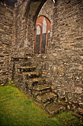 Stone Steps Prints - Kinsale Ireland Church Print by Patrick  Flynn
