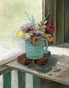 Valerie Meotti Art - Kiowas Porch by Valerie Meotti