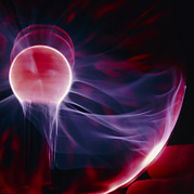 Tesla Photos - Kirlian Plasma Globe by Pasieka