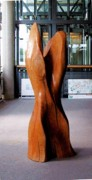 Female Form Sculptures - Kirsch massif by Hans-Juergen Gorenflo