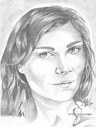 Things Drawings - Kirsten Dunst by Nathaniel Bostrom