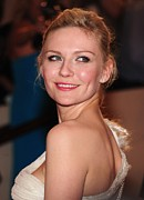 The Metropolitan Museum Of Art Costume Institute Posters - Kirsten Dunst At Arrivals For American Poster by Everett