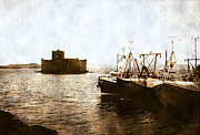 Scottish Art - Kisimul Castle Scotland by Jasna Buncic