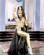 Gold Lame Photos - Kismet, Marlene Dietrich, 1944 by Everett