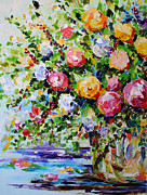 Blooming Paintings - Kiss of Spring by Laurie Pace